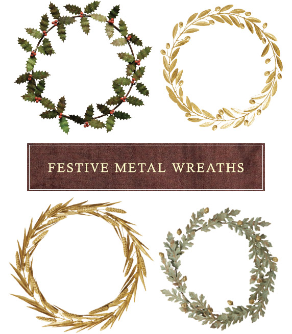 Fresh + Festive Wreaths