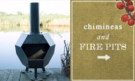Chimineas + Fire Pits