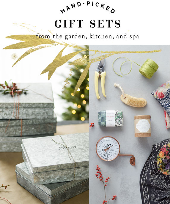 Hand-Picked Gift Sets | from the garden, kitchen, and spa