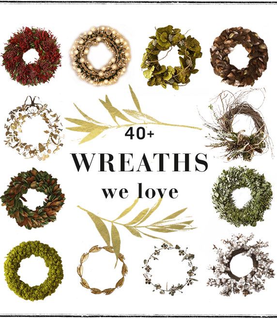 40+ Wreaths We Love