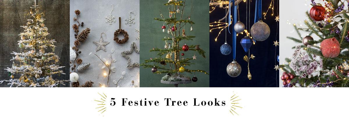 5 Festive Tree Looks