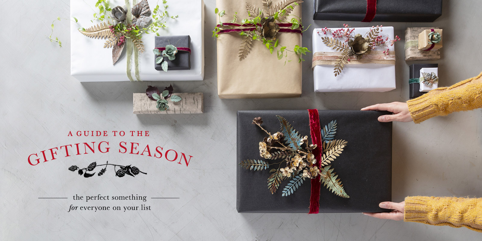 A Guide to the Gifting Season | the perfect something for everyone on your list