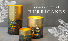Punched Metal Hurricanes