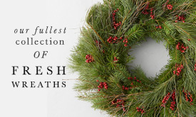Our Fullest Collection of Fresh Wreaths