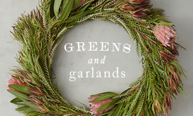 Greens + Garlands | to deck the halls