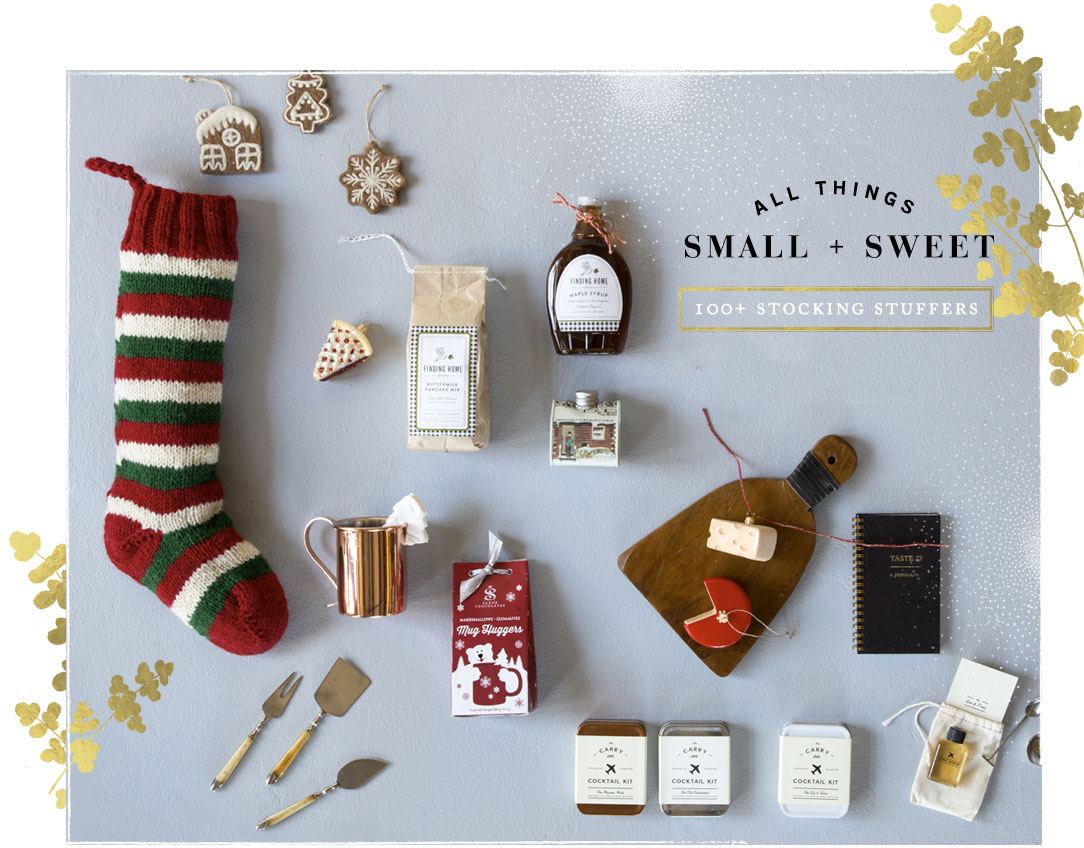 All Things Small + Sweet | 100+ stocking stuffers