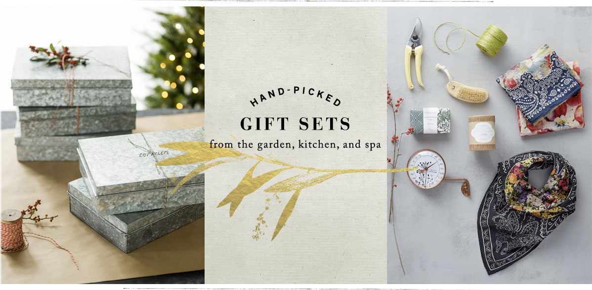 Hand-Picked | kitchen, spa, and garden | Gift Sets