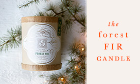 The Forest Fir Candle